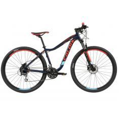 64b755030 Foto Bicicleta Mountain Bike Caloi 24 Marchas Aro 29 Suspensão Dianteira  Freio a Disco Kaiena Comp