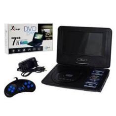 Imagem de DVD 7 Pol Portátil Com Receptor Tv/Game/Sd/USB/RádioFm D115