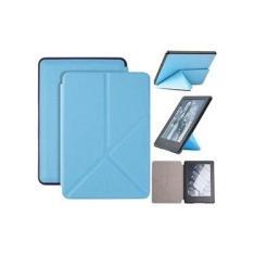 Capa Novo Kindle básico 10ª Geração Origami - Azul Claro