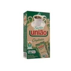 Imagem de Açúcar Cristal Orgânico União Sachê 5g Caixa 40 Unidades