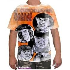 Imagem de Camiseta Camisa Masculina Orange Laranja Mecanica 14