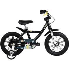 Imagem de Bicicleta Btwin Lazer Aro 14 Freio a Disco Mecânico Mini Monsters