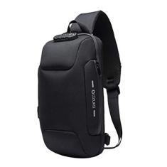 Imagem de Segolike Mochila de viagem impermeável antifurto, mochila masculina casual com porta de carregamento USB, , 6.7x3.2x13.4inch