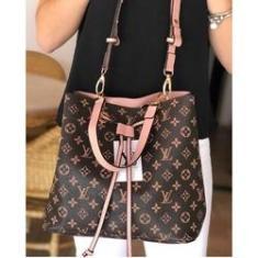Imagem de Bolsa Feminina Louis Vuitton Saco Sacola Linda Em Oferta