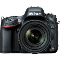 Câmera Digital Nikon D610 DSLR(Profissional) Full HD 24,3 MP