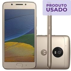 Imagem de Smartphone Motorola Moto G G5 Usado 32GB Android