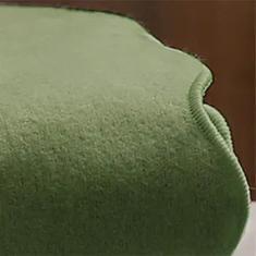 Imagem de Lençol de Flanela Verde Musgo