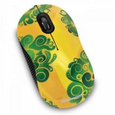 Mouse Óptico USB Brasil Abstrato 601052 - Maxprint