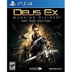Jogo Deus Ex Mankind Divided PS4 Square Enix