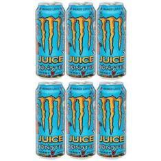 Imagem de Energetico Monster Energy Mango Loco de 473mL Caixa com 6