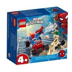 Imagem de Lego Spider Man Confronto Homem Aranha E Sandman 76172