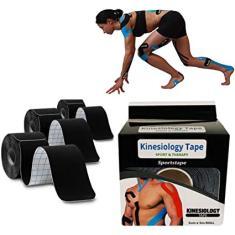 Imagem de Fita Kinesio Adesiva Kinesiology 5cm x 5m  Sportstape