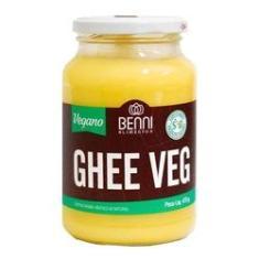 Imagem de Manteiga Ghee Vegano Benni Tradicional Com 475g