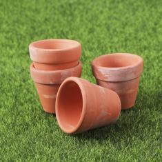 Imagem de Hemoton 20 Pcs Vasos de Barro de Terracota Plantador de Vasos de Berçário Vaso de Terracota Plantador de Cerâmica para Cactus Suculenta Projetos de Artesanato Diy