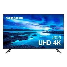 """Smart TV LED 50"""" Samsung Crystal 4K HDR 50AU7700"""
