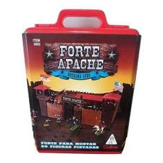 Imagem de Forte Apache Batalha De Luxo com 34 Pçs para Montar & 20 Figuras Pintadas, Gulliver