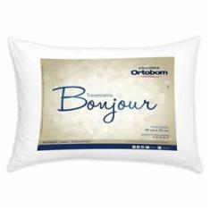 Imagem de Travesseiro Bonjour Fibra Siliconizada em Microfibra - Ortobom