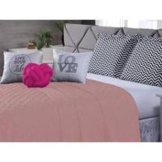 Imagem de Kit Cobre Leito Isabella Casal Queen 8 Peças Rosê - Pink