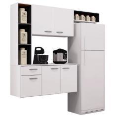 Imagem de Cozinha Compacta 1 Gaveta 5 Portas Isis A521 Poquema