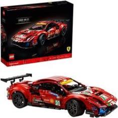 """Imagem de Lego Technic Ferrari 488 GTE """"AF Corse #51"""" 42125 1677 Peças"""