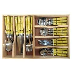 Faqueiro Bon Gourmet Bamboo 42 peças