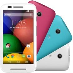 Smartphone Motorola Moto E E DTV Colors Edition XT1025 TV Digital 4GB 5.0 MP Qualcomm Snapdragon 200 2 Chips Android 4.4 (Kit Kat)