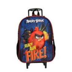 Imagem de Mochila Infantil Rodinha Angry Birds Santino - Fire