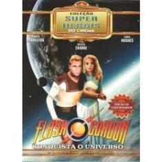 Imagem de Box Flash Gordon Conquista O Universo Coleção Super Heróis Do Cinema 02 Dvds