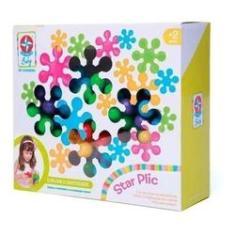 Imagem de Brinquedo Infantil Encaixar Montar 30 Pcs Star Plic Estrela
