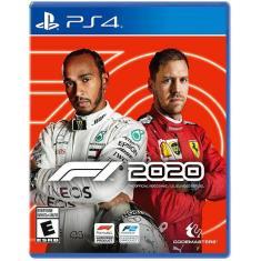 Jogo F1 2020 PS4 Codemasters