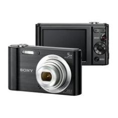 """Imagem de Câmera Compacta Sony DSC W-800 20.1MP 2.7"""" com USB -"""
