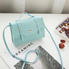 Imagem de Sacos mensageiros femininos feminino bolsa quadrada pequena Trend Mini bolsa feminina bolsas