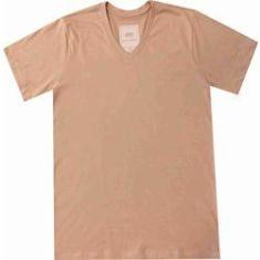 Imagem de Camiseta Masculina Pau a Pique Bege