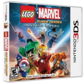 Jogo Lego Marvel Super Heroes Warner Bros Nintendo 3DS