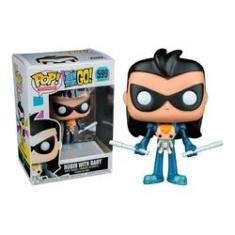 Imagem de Boneco Funko Exclusive Teen Titans Go Robin With Baby 599