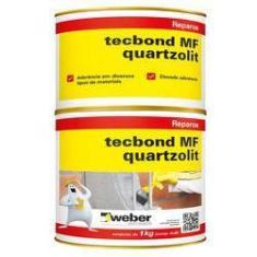 Imagem de Cola Para Ferro Concreto Quartzolit Mf 1kg