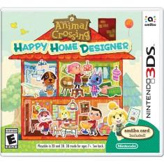 Jogo Animal Crossing: Happy Home Designer Nintendo 3DS