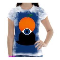 Imagem de Camiseta Camisa Feminina Orange Laranja Mecanica 10