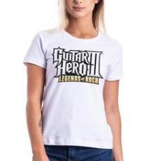 Imagem de Camiseta Feminina Logo Games Guitar Hero 3 Legends Hero