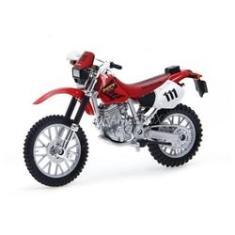Imagem de Moto Miniatura Honda Xr400r  1:18 Maisto