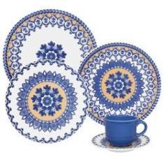 Imagem de Jogo Jantar Chá 30 Peças Floreal La Carreta Oxford Porcelana