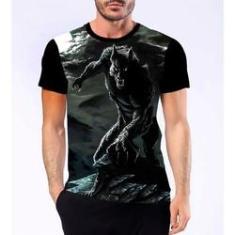Imagem de Camiseta Camisa Lobisomem Licantropo Homem Lobo Terror 4