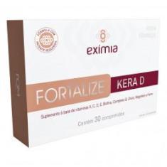 Exímia Fortalize Kera D c/ 30 Comprimidos