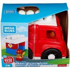 Imagem de Fisher Price Mega Bloks - Caminhão De Bombeiro - Mattel