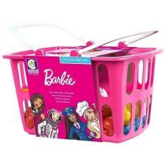 Imagem de Brinquedo infantil Cesta De Mercado Barbie Cheff  Cotiplas