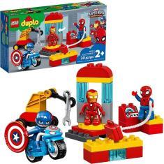 Imagem de Lego Duplo Marvel Laboratório De Super-Heróis - Lego 10921