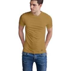 Imagem de Camiseta Mayon Algodão Egípcio Basic Bege