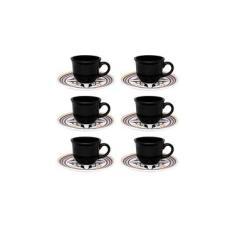Imagem de Conjunto com 6 Xícaras de Chá 200ml com Pires - Mail Order Luiza - Oxford Daily