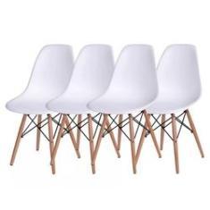 Imagem de Conjunto 4 Cadeiras Eames DSW -