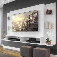 """Imagem de Painel Nairóbi Plus para TV Até 60""""  Acetinado Texturizado"""